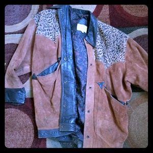 Jackets & Blazers - Vintage leather